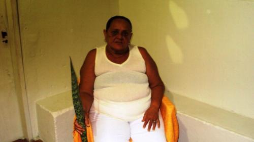 8- Mãe Zeninha (Ialorixá) colaborou na identificação das plantas sagradas